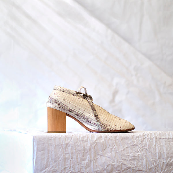 PCH Bootie <span>Natural Matte Snakeskin</span>
