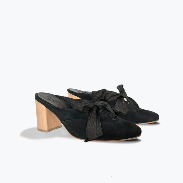 Canon Slide <span>Black Suede</span>