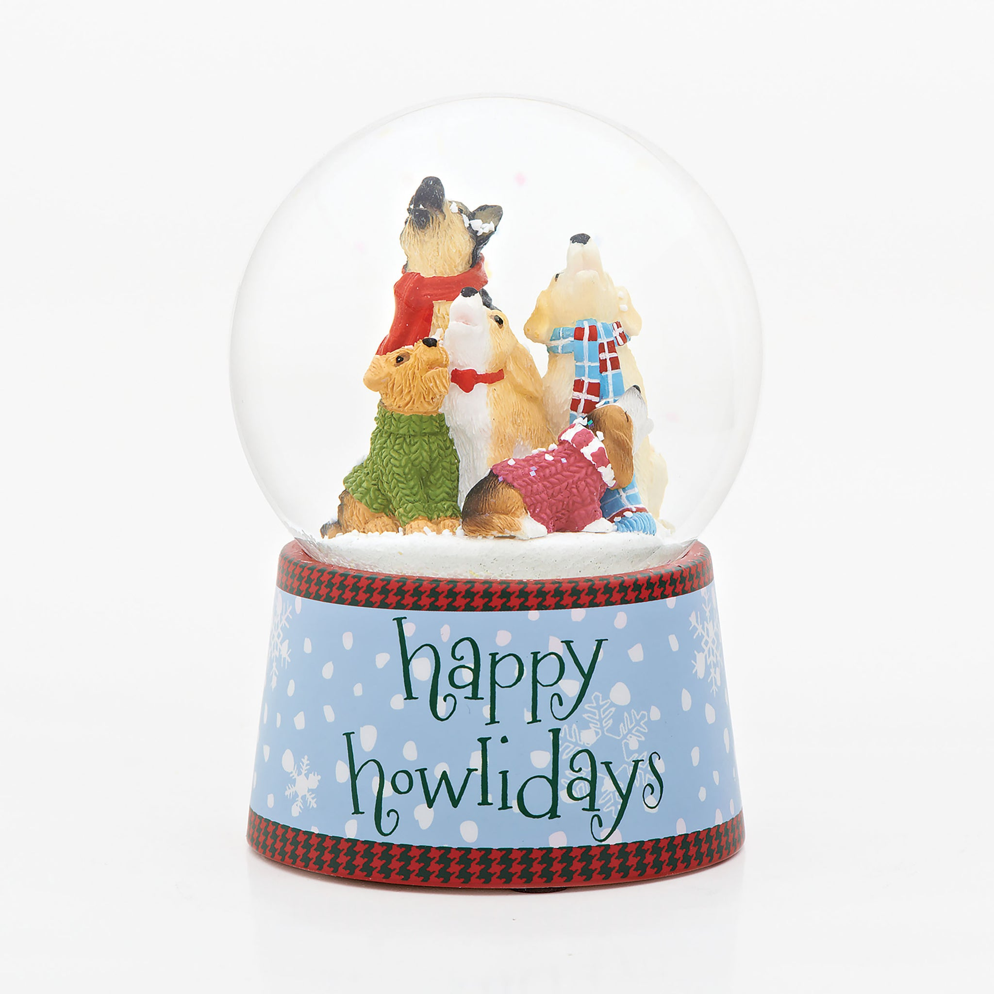 Snow Globe Happy Howlidays