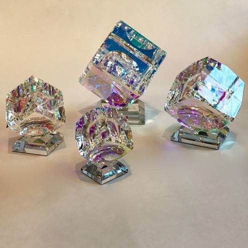 Di-Chroic Crystal Cubes * Please Call for Pricing