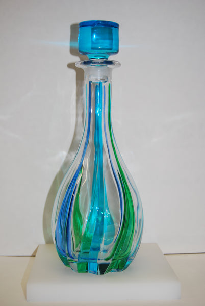 Murano Glass Trix Decanter from Italy