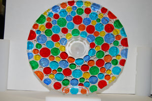 Murano Glass Lisboa Multi Color Plater