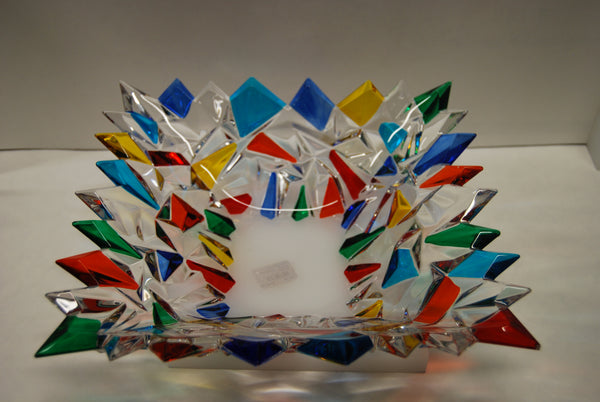 "Murano Glass ""Glacier Bowl"""