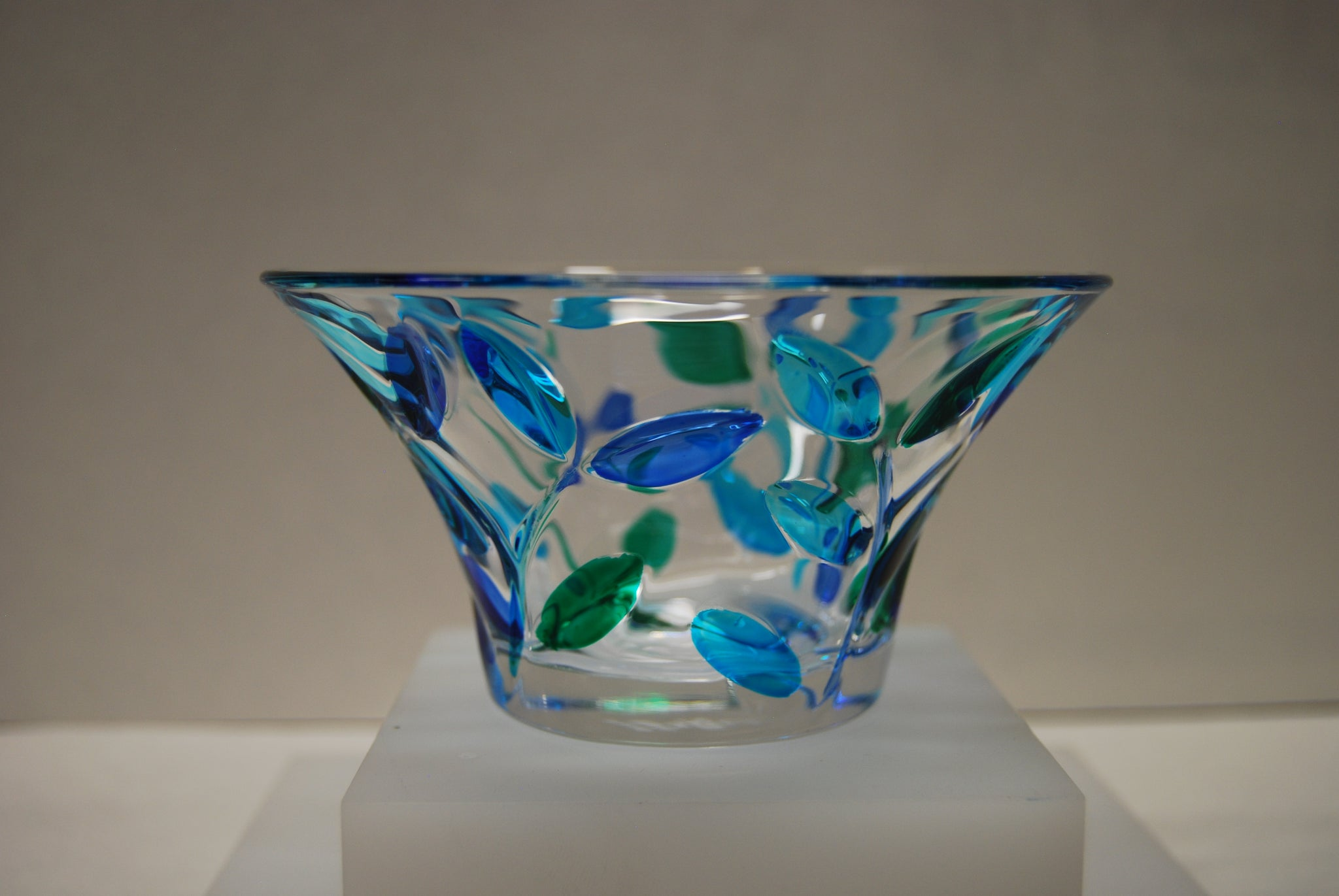 Murano Glass Tree of Life Bowl