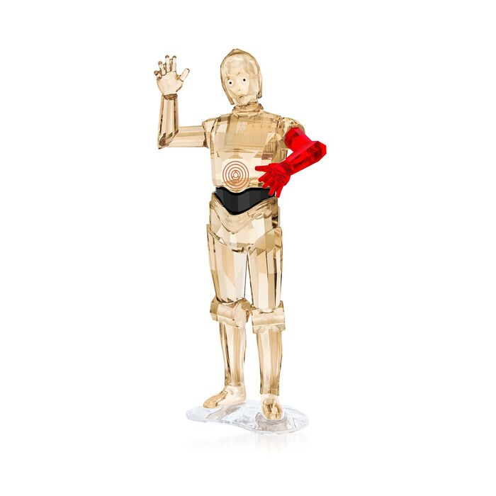 "Swarovski Crystal ""Star Wars - C-3po"" Crystal Figurine"
