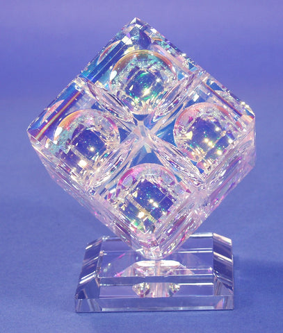 The Crystal Di-Chroic Ice Cube Sculpture / **Please call for Pricing