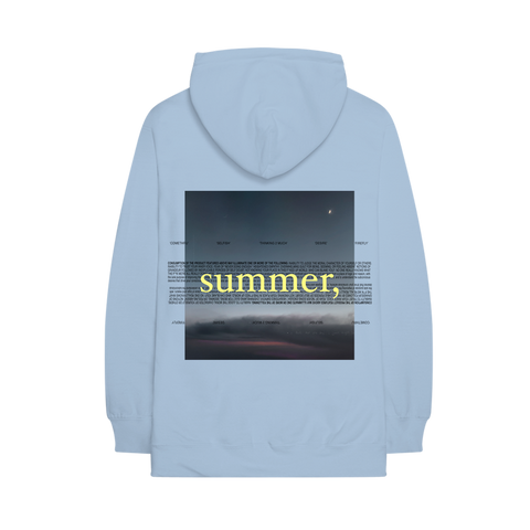 summer, hoodie + summer, digital ep
