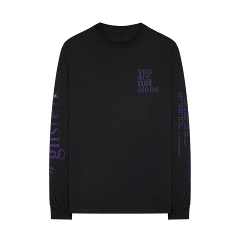 you are not alone longsleeve + summer, digital ep
