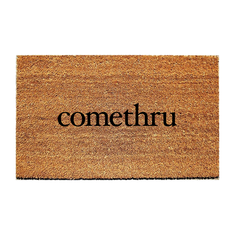 comethru doormat