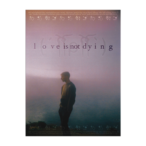 Love Is Not Dying Poster