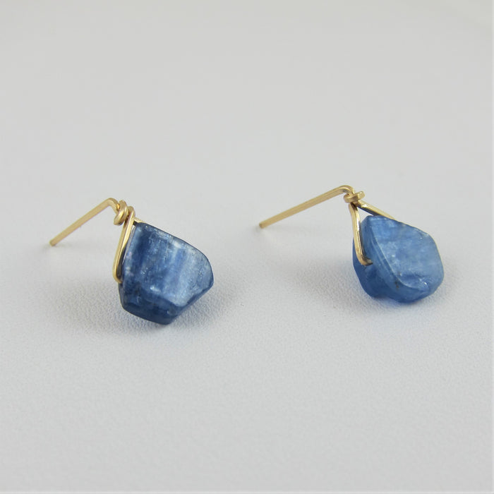 Kyanite Stud Earrings