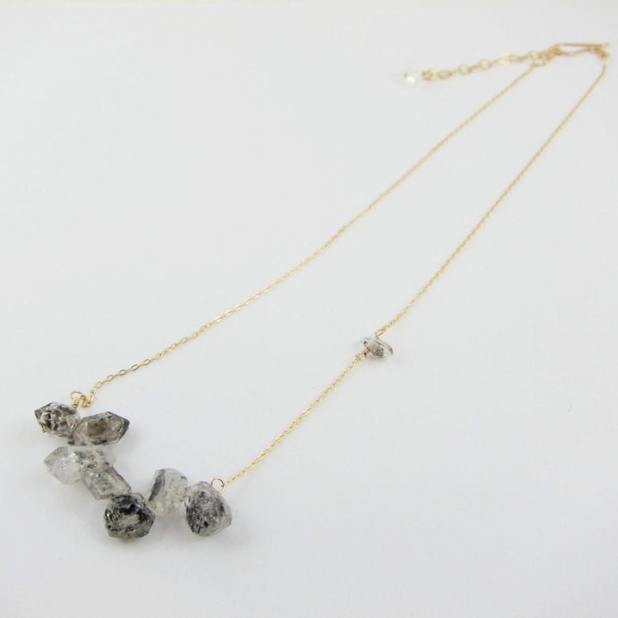 Small Herkimer Diamond Necklace