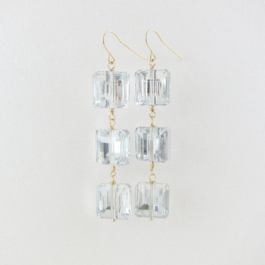 Holiday Sparkle Crystal Earrings