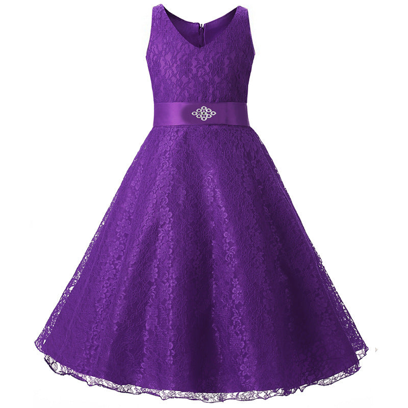 Girl - Flower Girl Dress - Purple – OrangeTots 8ebb74d64