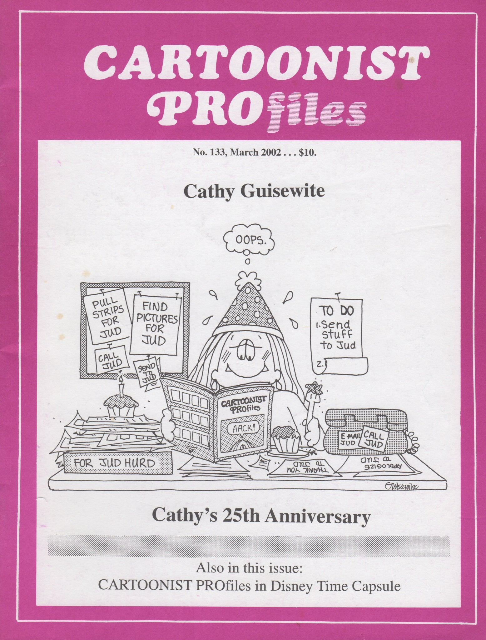 Cartoonist PROfiles Issue #133, March 2002