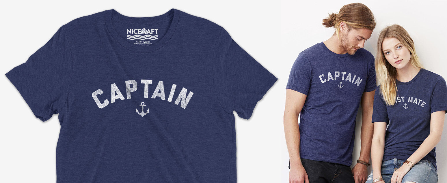 Captain first mate shirts