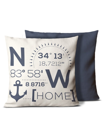 lake house pillows white