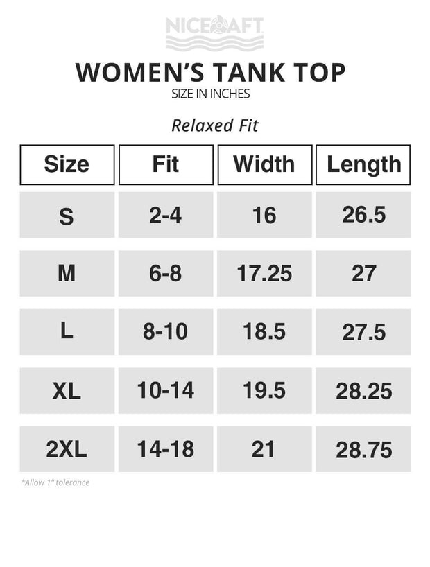 Lake Vibes Women's Tank Top - Nice Aft