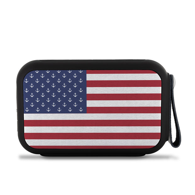 American Anchor Flag Wireless Bluetooth Water-Resistant Speaker