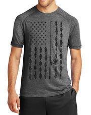 American Flag Fishing Shirt