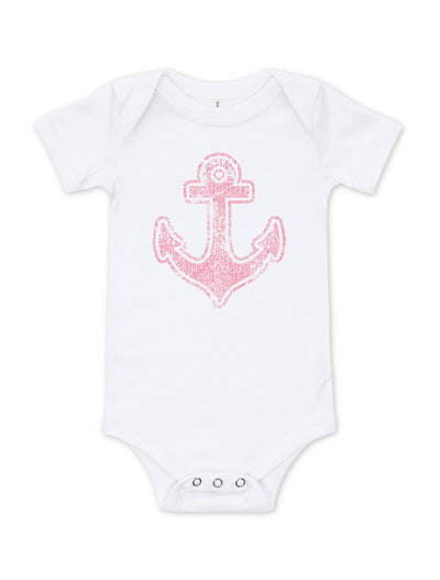 Vintage Anchor Baby Bodysuit - Nice Aft