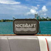 Nice Aft Logo Wireless Bluetooth Water-Resistant Speaker