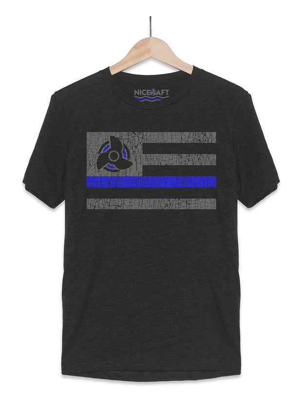 Blue Line Boat T-Shirt