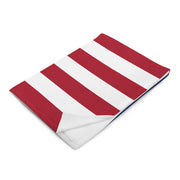 American Flag Anchors Blanket - Nice Aft