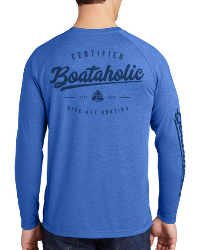 Men's Boataholic Long Sleeve Quick-Dry T-Shirt - Nice Aft