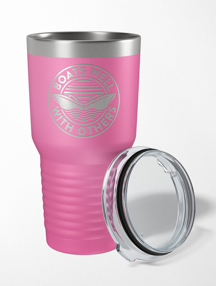 Boats Well With Others 30 OZ. Drink Tumbler