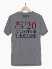 Bust Out Another Thousand Boat T-Shirt - Nice Aft