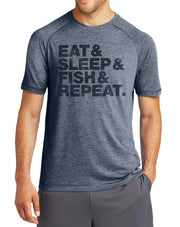 Eat Sleep Fish Repeat Fishing T-Shirt