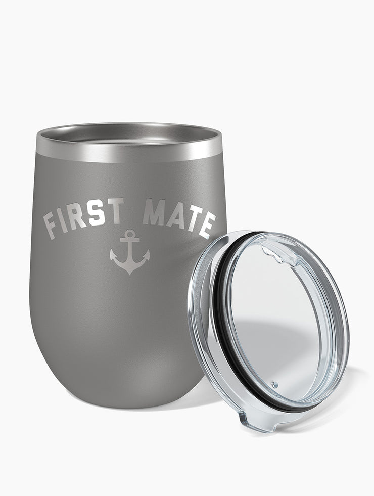 First Mate Wine Tumbler - Nice Aft