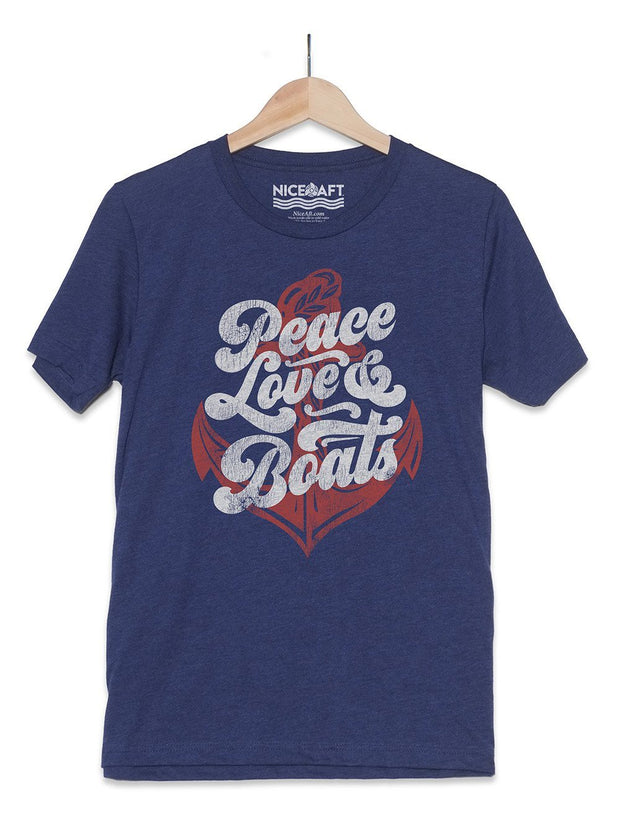 Peace Love & Boats T-Shirt