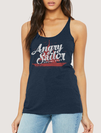 Angry Sailor Social Club Women's Tank Top