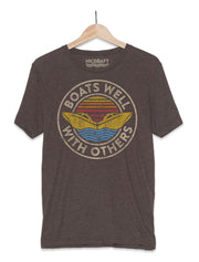 Boat Shirt | Boats Well With Others T-Shirt - Nice Aft