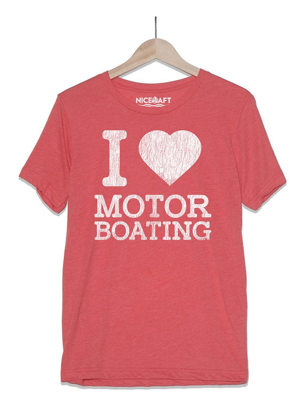 Boat Shirt | I Love Motor Boating - Nice Aft