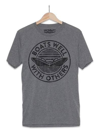 Boats Well With Others T-Shirt