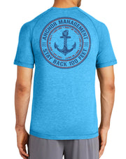 Anchor Management T-Shirt | Men's Funny Boat Shirts