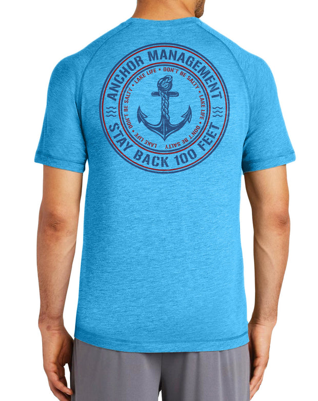 Anchor Management T-Shirt | Men's Funny Boat Shirts - Nice Aft