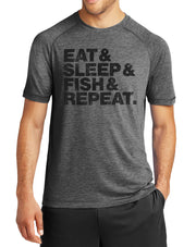 Eat Sleep Fish Repeat Fishing T-Shirt - Nice Aft
