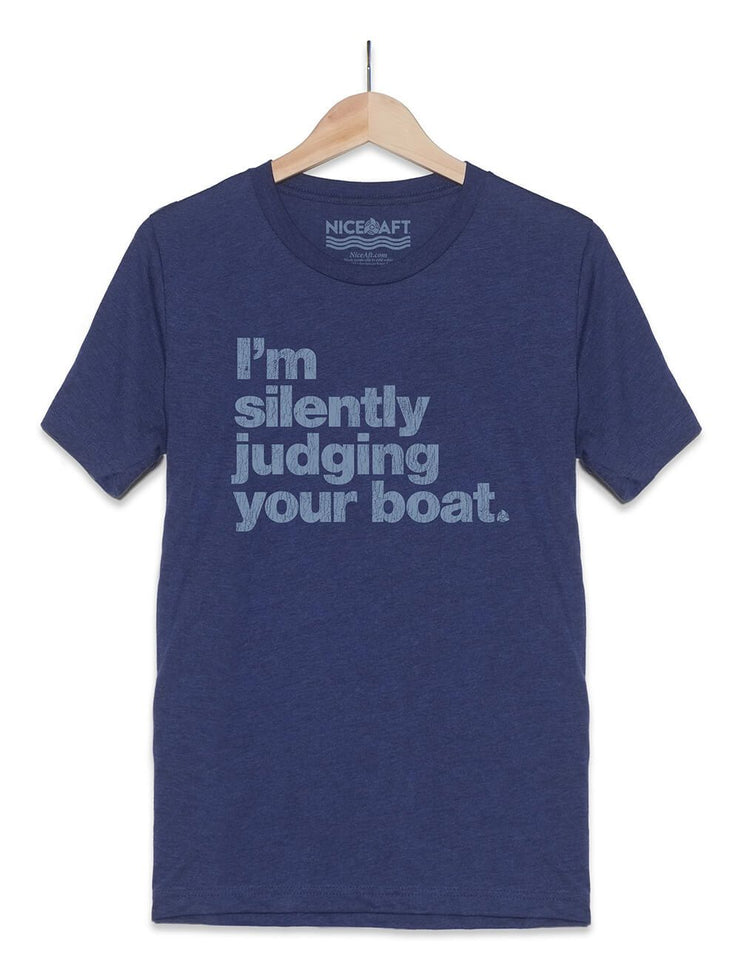 I'm Silently Judging Your Boat T-Shirt