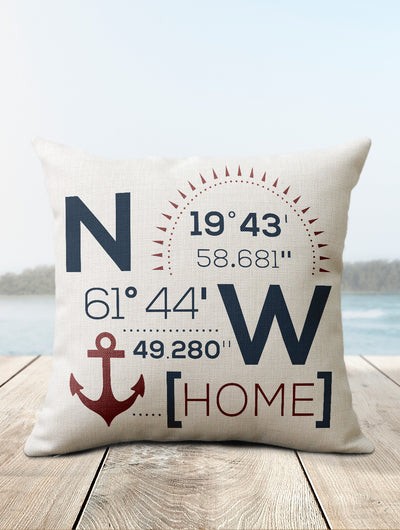 Lake House Pillows | Boat Pillow