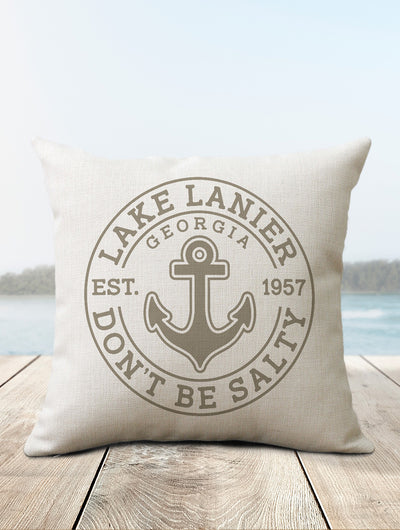 Lake Lanier Pillow - Nice Aft