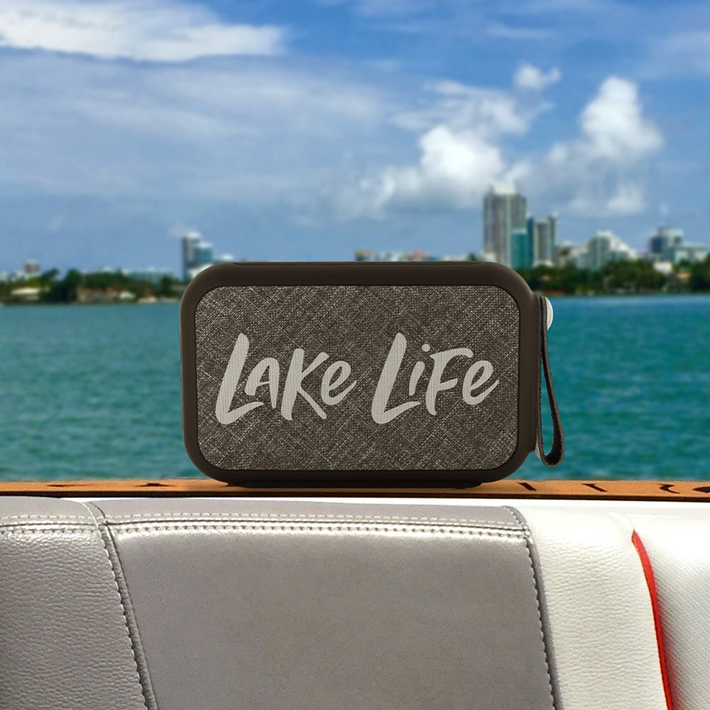 Lake Life Wireless Bluetooth Water-Resistant Speaker