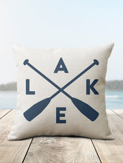 LAKE Pillow | Lake House Decor