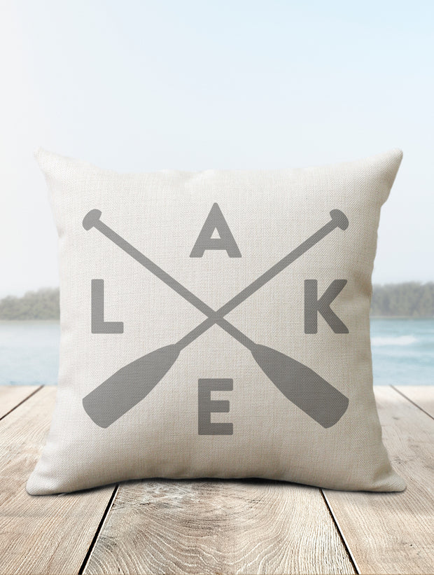 LAKE Pillow | Lake House Decor - Nice Aft