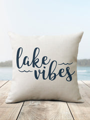 Lake Vibes Pillow - Nice Aft