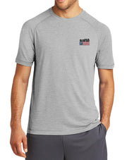 Men's Saltē American Flag Quick-Dry Fishing T-Shirt - Nice Aft