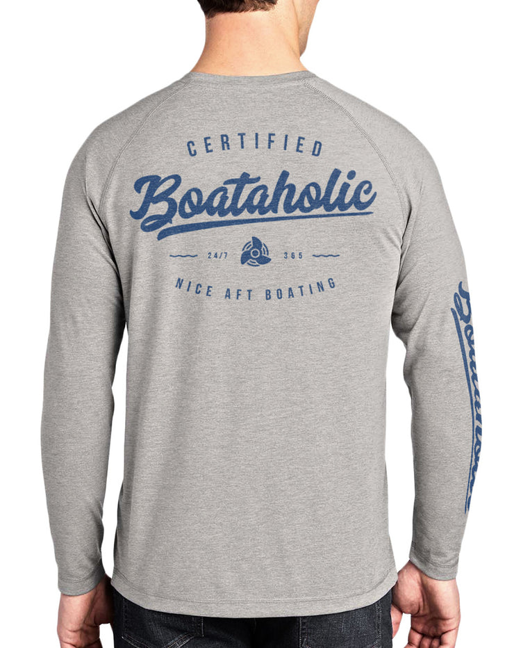 Men's Boataholic Long Sleeve Quick-Dry T-Shirt